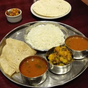 Indian Vegetable Thali